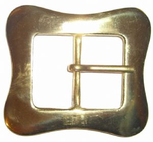 38mm Solid Brass Belt Buckle. Code BUC112